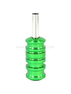 Färg Aluminum Tatuerings Handle Grön 5PCS