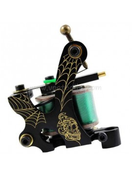 Tatueringsmaskin N103 10 Layer Coil Brons Liner Nets