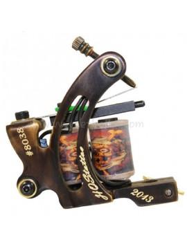Tatueringsmaskin N130 10 Layer Coil  Brons Shader Nummer 8038