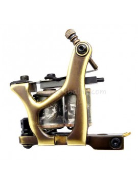 Tatuerings Maskin N160 10 Layer Coil Bronze Shader Number One